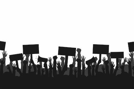The Law of Public Protests, and the Right to Criticize Government