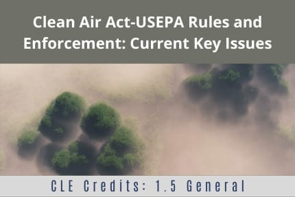 Clean Air Act CLE