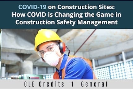 Covid19 On Construction Sites CLE