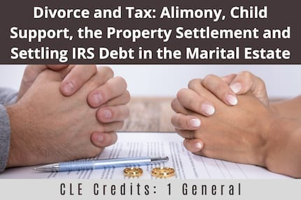 Divorce and Tax CLE