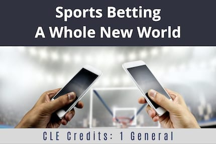 Sports Betting A Whole New World CLE