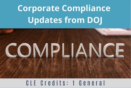 Corporate Compliance Update CLE