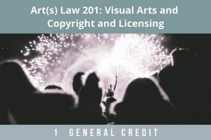 Arts Law 201-CLE