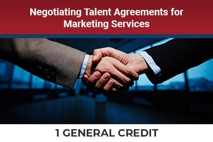 Negotiating Talent Agreements CLE