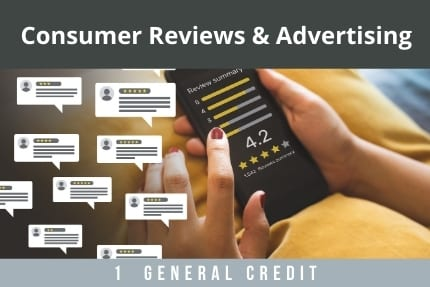 Consumer Reviews and Advertising CLE