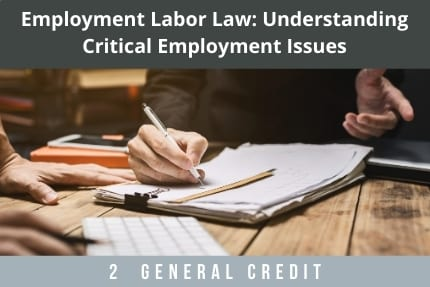Employment Labor Law CLE