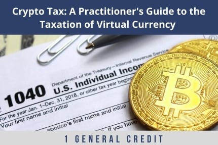 Crypto Tax CLE