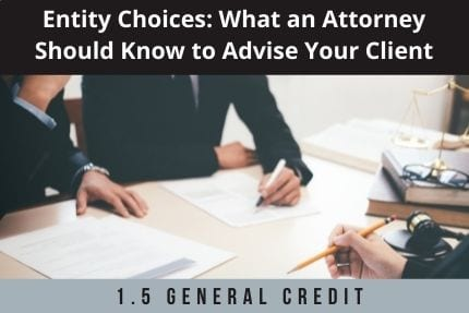 Entity Choices CLE