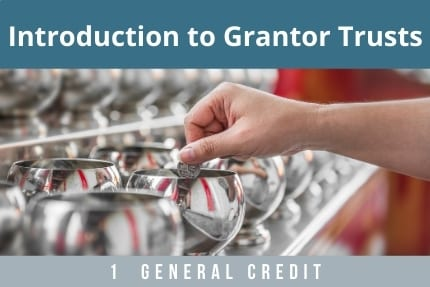 Introduction To Grantor Trusts CLE