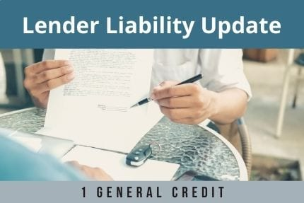 Lender Liability Update CLE