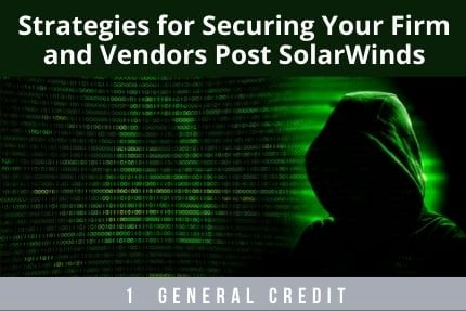 Strategies For Securing Your Firm CLE
