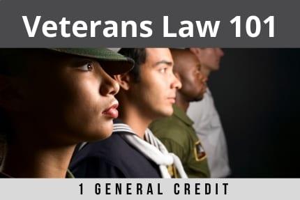 Veterans Law 101 CLE