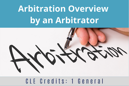 Arbitration Overview CLE