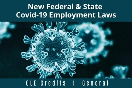 New Federal and State COVID19 Employment Laws CLE