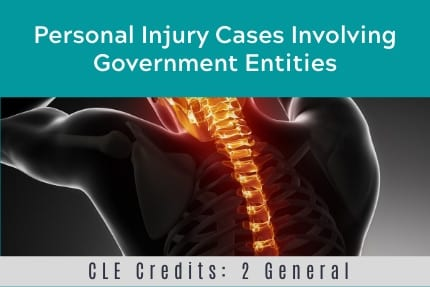 Personal Injury Cases CLE