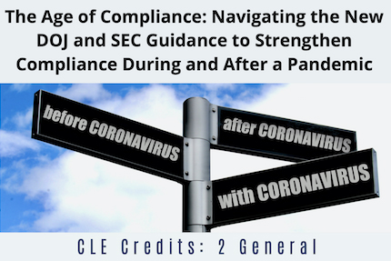 The Age of Compliance CLE
