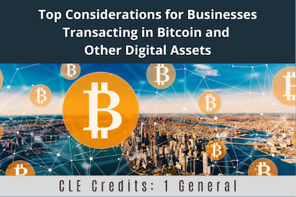 Top Considerations For Businesses Transacting CLE